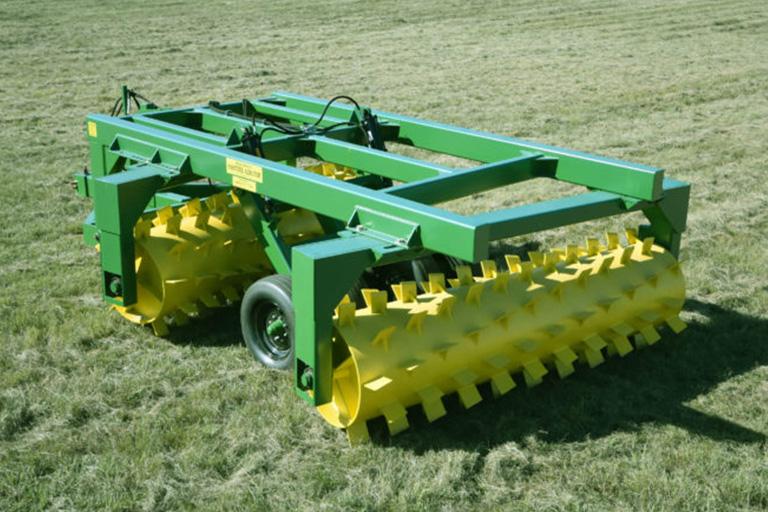 ranchworx soil pasture aerator tandem